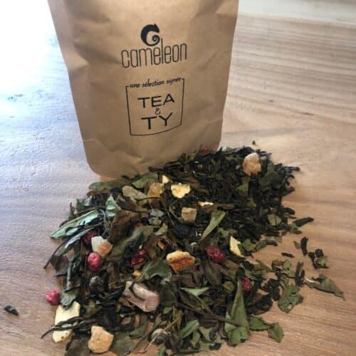 thé blanc Effet-Papillon